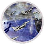 On The Rise Two Round Beach Towel
