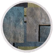 On The Wall - Round Beach Towel