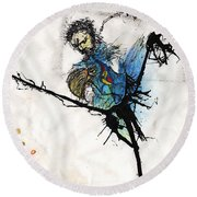 Once More Round Beach Towel