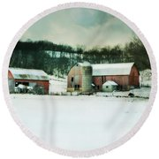 Round Beach Towel featuring the photograph Once Was Special by Julie Hamilton