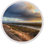 One Certain Moment Round Beach Towel