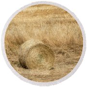 One Hay Ball -  Round Beach Towel