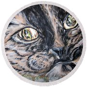 One In A Million... Hello Pearl Collection 2015 Round Beach Towel