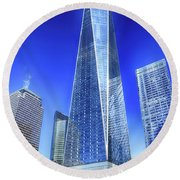 Standing Tall Round Beach Towel by Dyle Warren