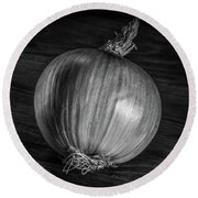 Onion Round Beach Towel