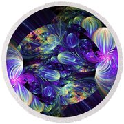 Opal Essence Round Beach Towel