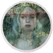 Ophelia, All For Love Round Beach Towel