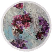 Ophelia Round Beach Towel