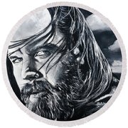 Opie Round Beach Towel