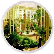 Opryland Hotel Round Beach Towel