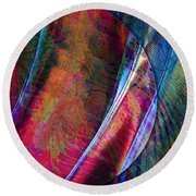 Orbit II Round Beach Towel