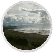 Oregon Coast 10 Round Beach Towel