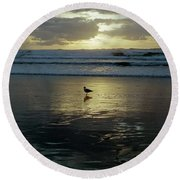 Oregon Coast 3 Round Beach Towel