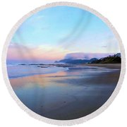 Oregon Coast 4 Round Beach Towel