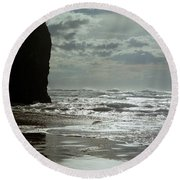 Oregon Coast 5 Round Beach Towel
