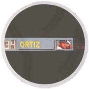 Ortiz Round Beach Towel