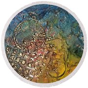 Other Worlds Round Beach Towel