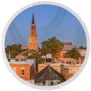 Our City Charleston Round Beach Towel