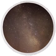 Our Galaxy I Round Beach Towel