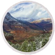 Our Other Grand Canyon Round Beach Towel