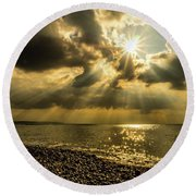 Our Star Round Beach Towel