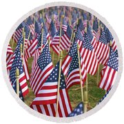 Our Unforgotten Freedom Round Beach Towel