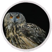 Out Of The Darkness 2 Round Beach Towel