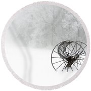 Out Of The Mist A Forgotten Era 2014 II Round Beach Towel