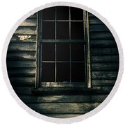 Round Beach Towel featuring the photograph Outback House Of Horrors by Jorgo Photography - Wall Art Gallery