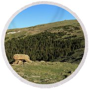 Outcropping Round Beach Towel