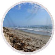 Outer Banks Morning Round Beach Towel