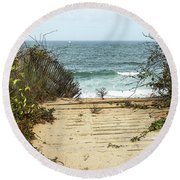 Outermost Passage Round Beach Towel