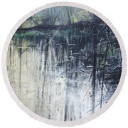 Outflow  Mellerstain Round Beach Towel