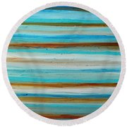 Outstretch 2 Round Beach Towel