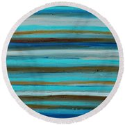 Outstretch 3 Round Beach Towel
