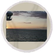 Over The Edge Photo/painting Round Beach Towel