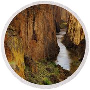 Owhyee River Round Beach Towel
