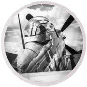 P-51 Mustang Series 2 Round Beach Towel
