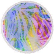 Round Beach Towel featuring the photograph Pacifica by Nareeta Martin