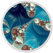 Pacifica Round Beach Towel