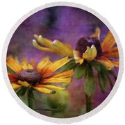 Painted By The Sun 2757 Idp_2 Round Beach Towel