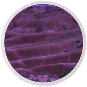 Painted Desert Azorina Round Beach Towel