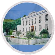 Palace Barracks Round Beach Towel