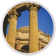 Palace Of Fine Arts, San Francisco Round Beach Towel