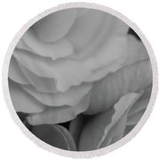 Pale Glamour Round Beach Towel by Tim Good