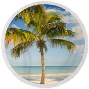 Palm Beach Round Beach Towel