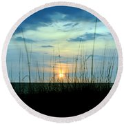 Palm Island Round Beach Towel