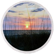 Palm Island II Round Beach Towel