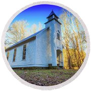 Palmer Chapel Methodist Church Round Beach Towel