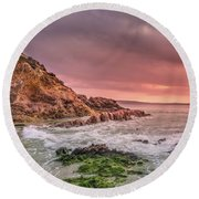 Pambula Rocks Round Beach Towel